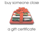 Buy someone close a gift certificate this X'Mas