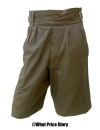CLASSIC GURKHA SHORTS IN GREEN COTTON TWILL