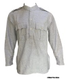 Indian Army Collarless Gray Shirt