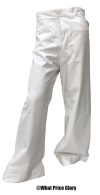 US NAVY WWI PATTERN DRESS WHITE TROUSERS
