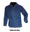 US Navy WWII Shawl Collar Denim Jacket