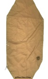 USMC 1941 Pattern Khaki Shelter Half with Two Ends (For Non-US Customers Only)